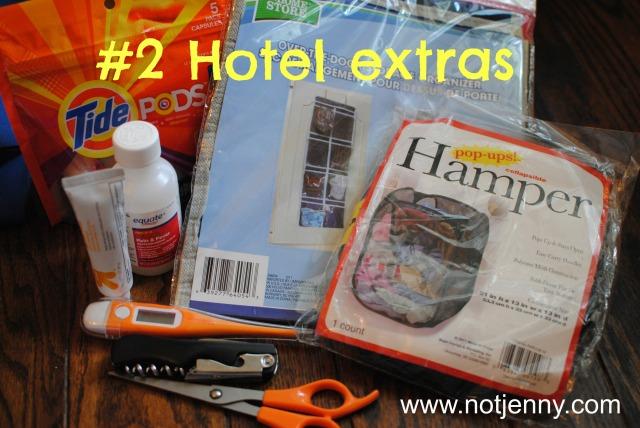 #2 Hotel extras