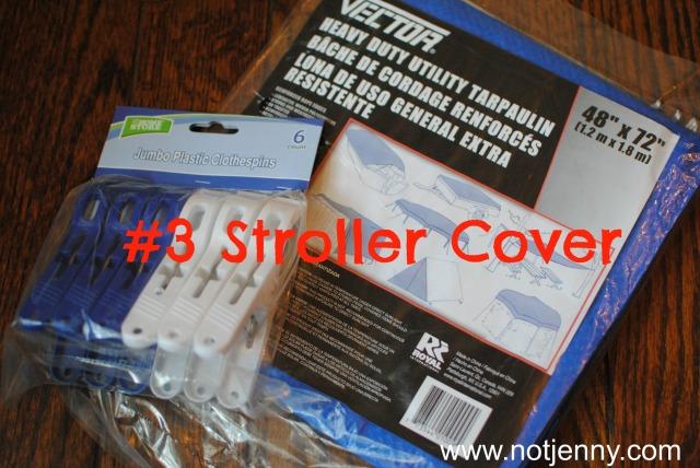 #3 stroller cover