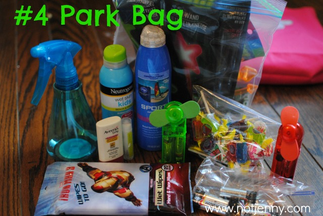 #4 park bag