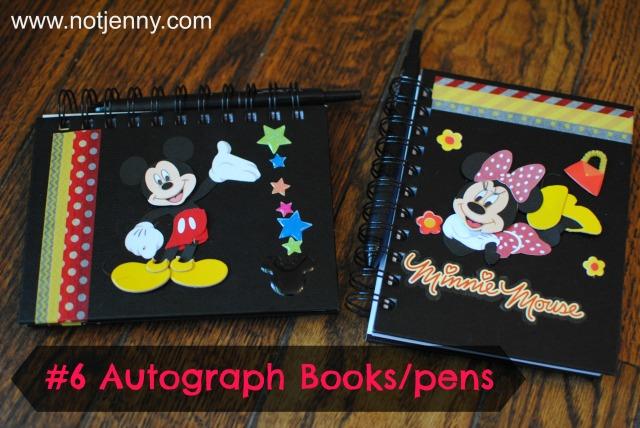 #6 autograph books