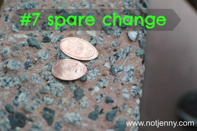 #7 spare change