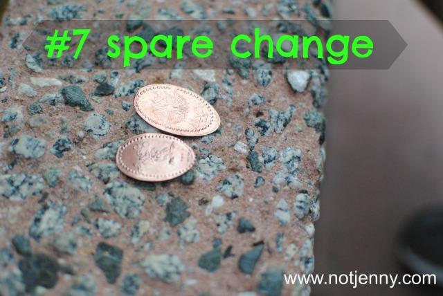#7 spare change