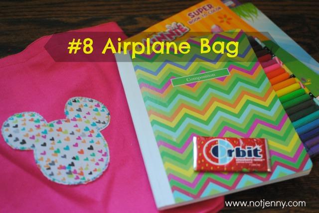 #8airplane bag