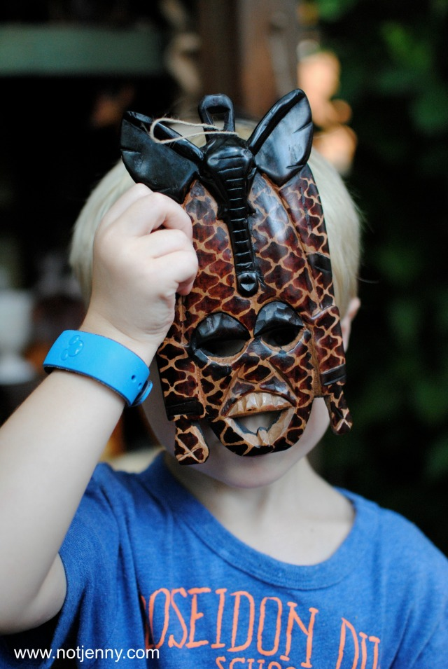 animal kingdom mask