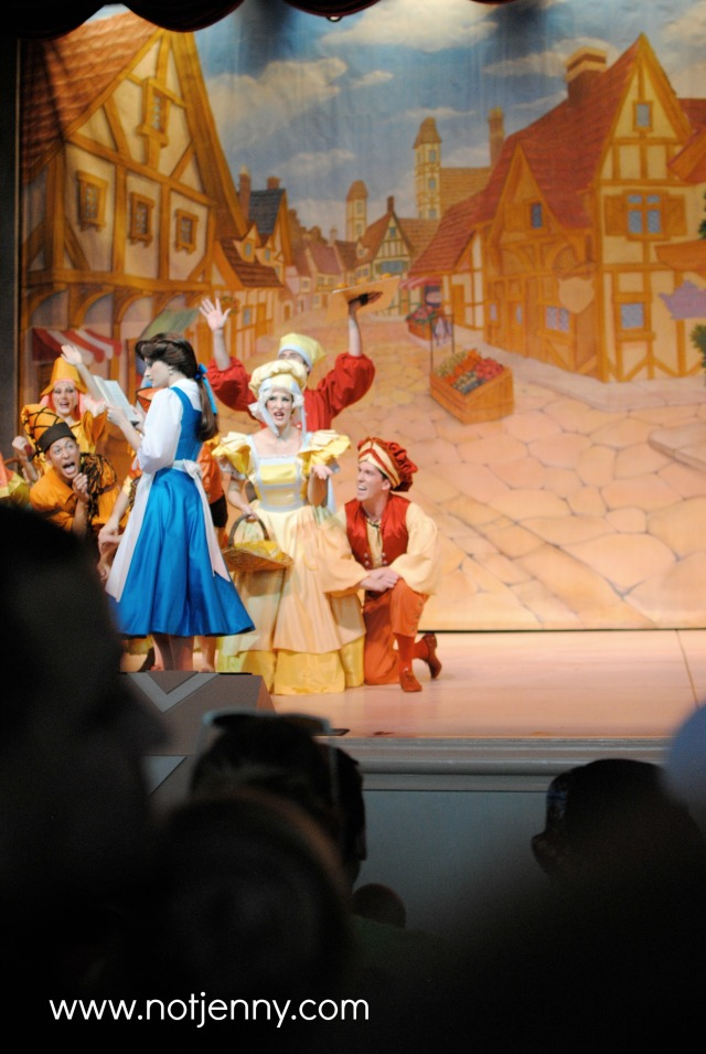beauty and the beast stage show