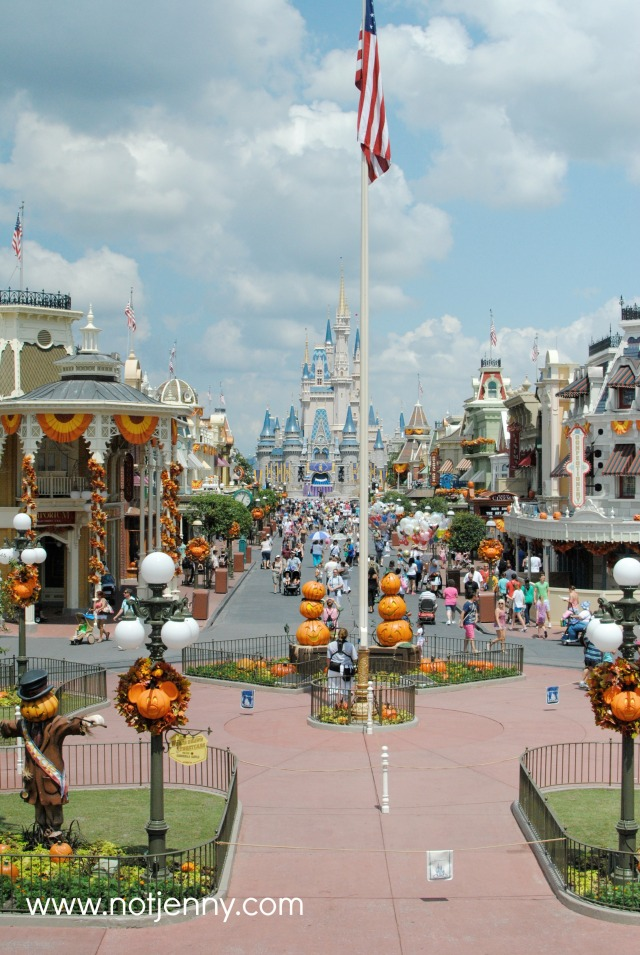 disney main street halloween
