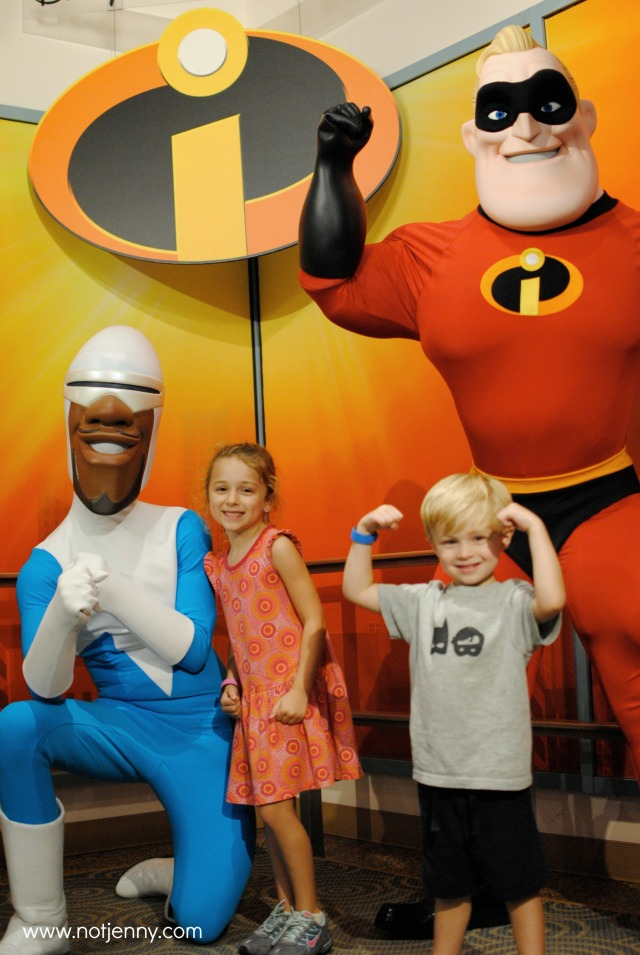 flexing with incredibles