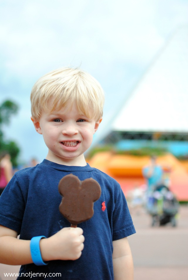 mickey icecream