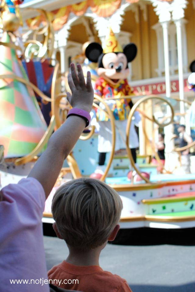 mickey parade