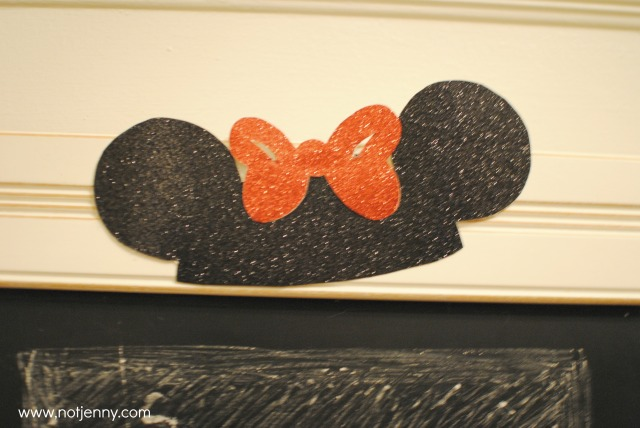 mouse ears detail